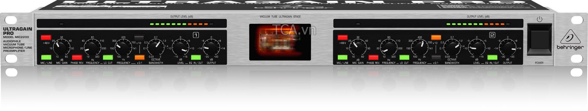 HEADPHONE AMPLIFIERS Behringer HA400