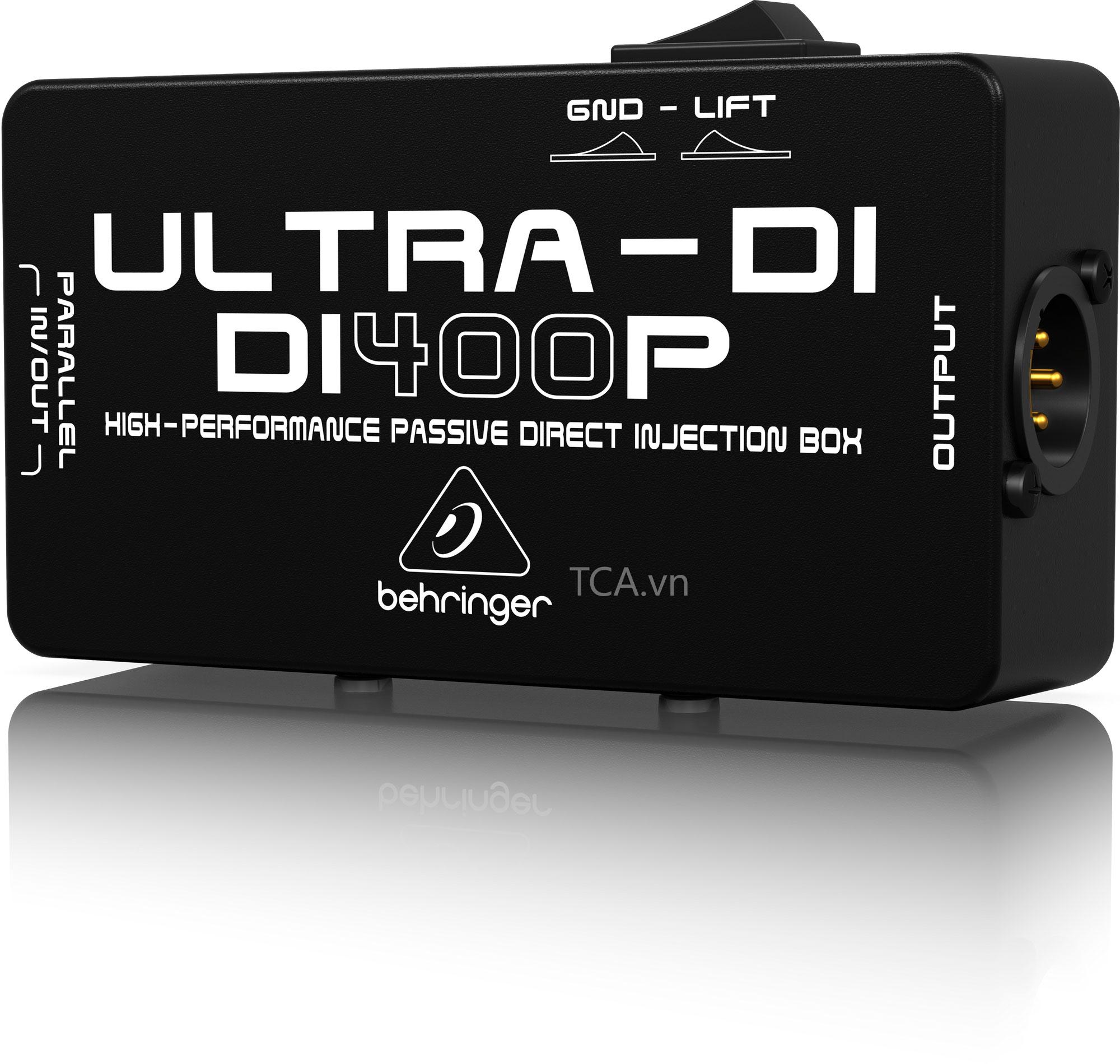 DI-Box ULTRA-DI BEHRINGER DI400P