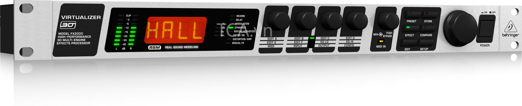 Echo Behringer FX2000 : Multi-Effects Processors
