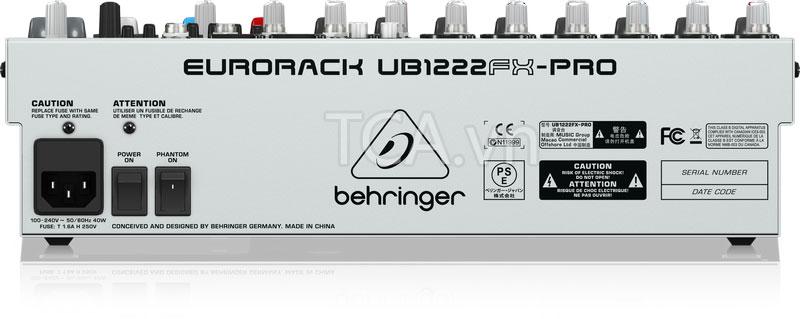 Mixer Behringer UB1222FX-PRO