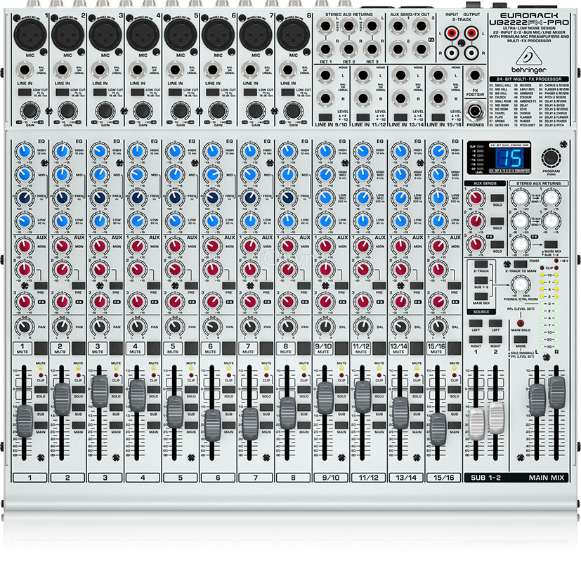 Mixer Behringer UB2222FX-PRO