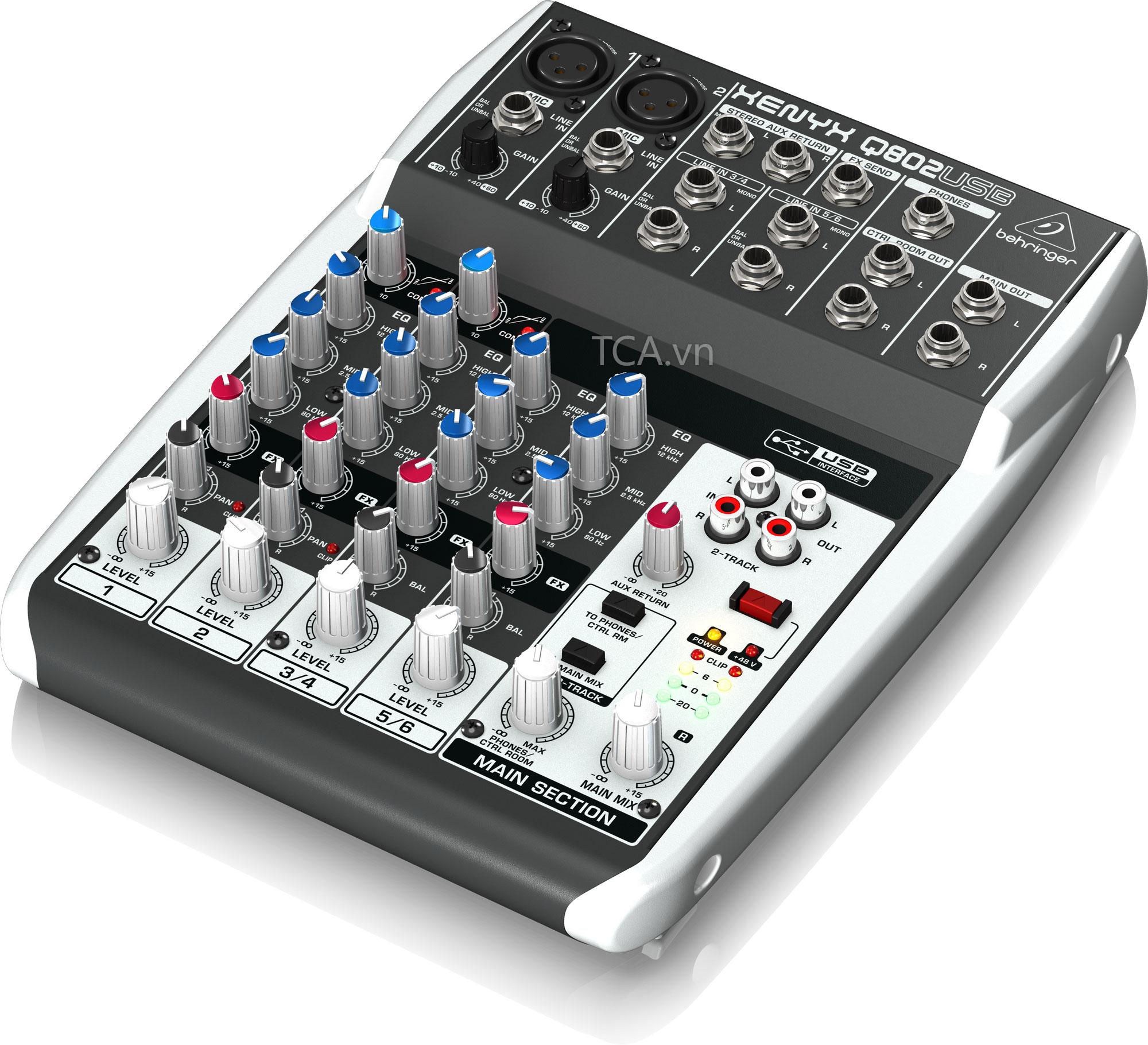 Mixer Behringer Q802USB