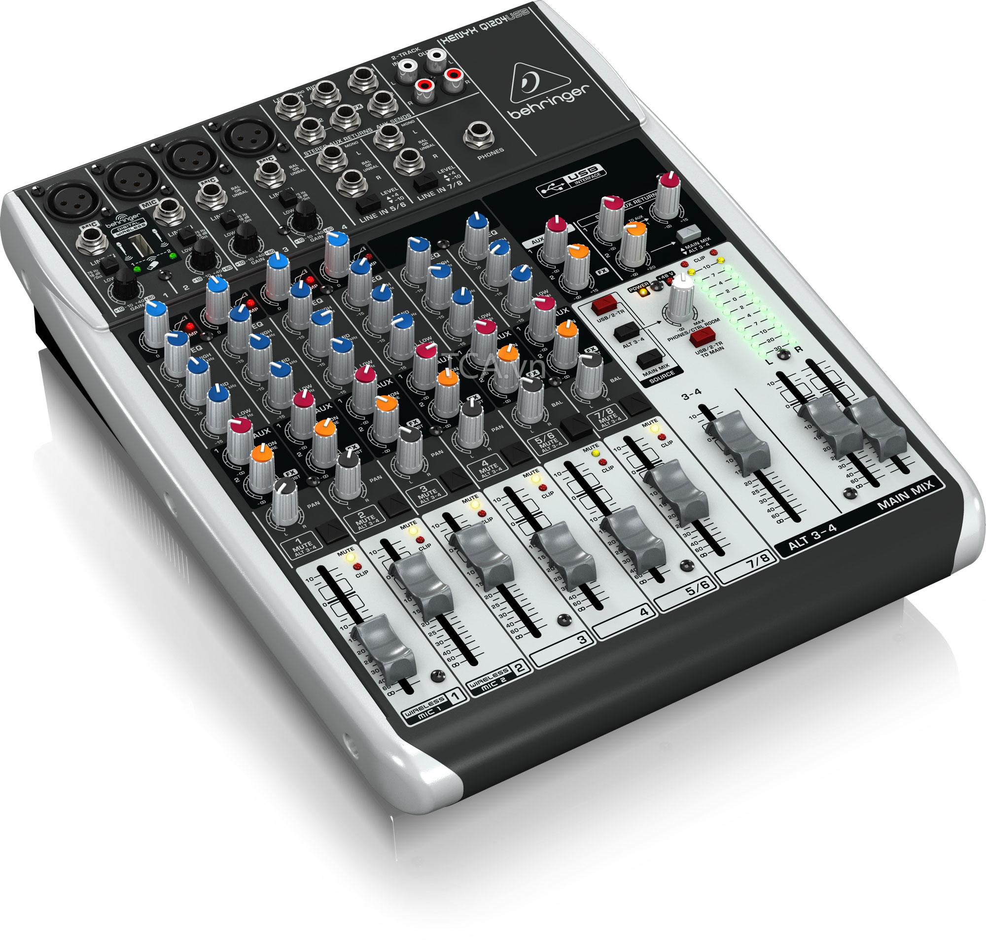 Mixer Behringer Q1204USB