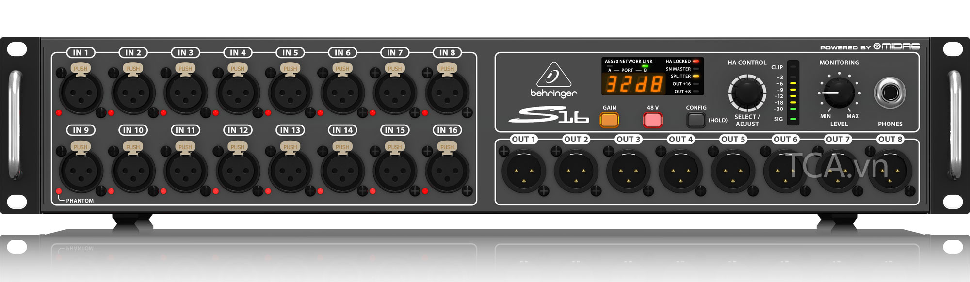 I/O Box Behringer S16