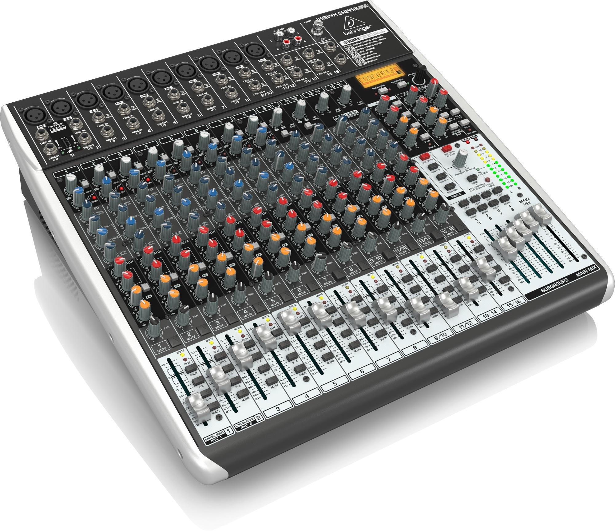 Mixer Behringer XENYX QX2442USB