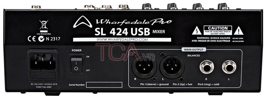 MIXER Wharfedale Pro SL 424USB