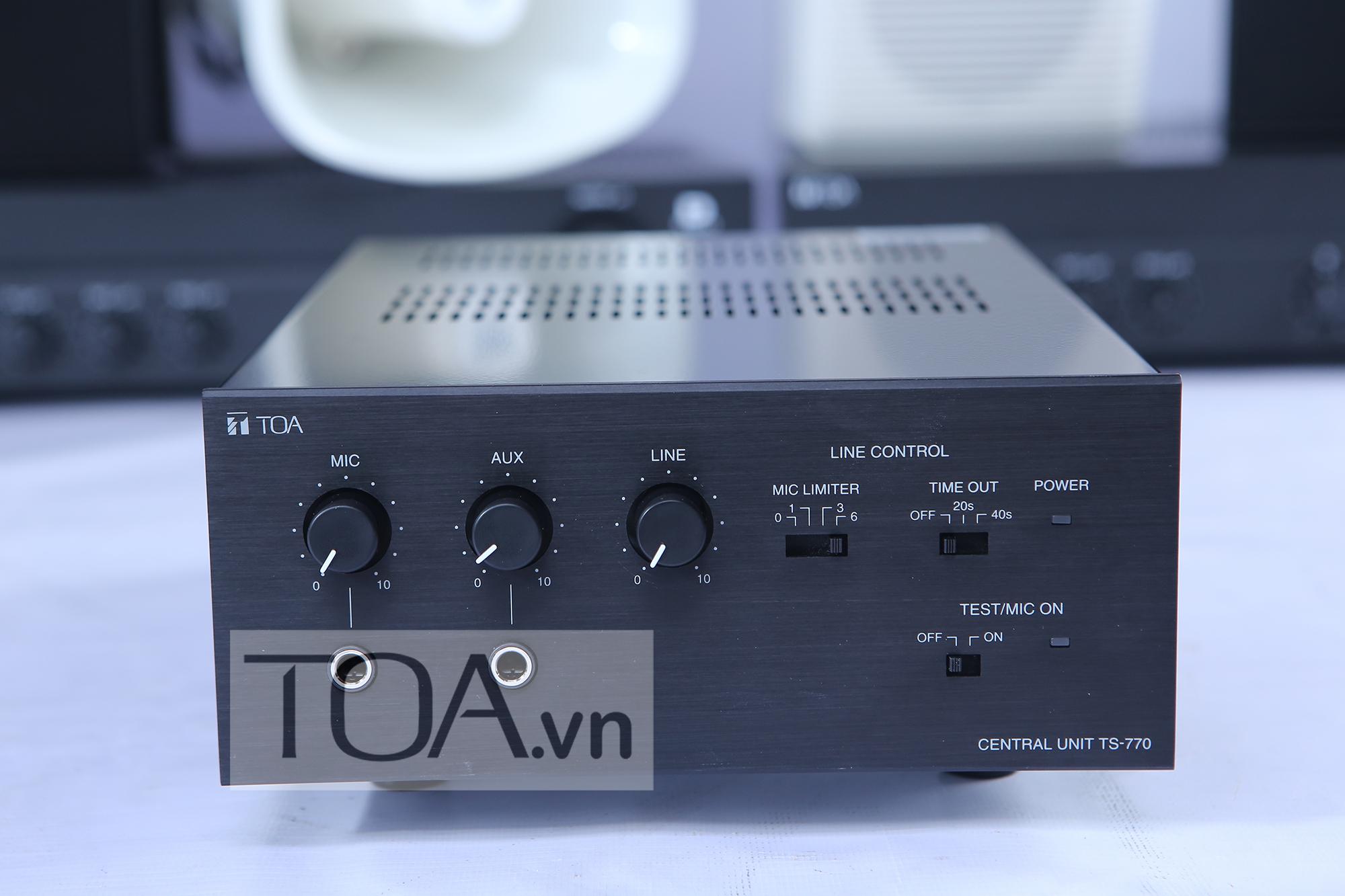Tăng âm hội thảo TOA TS-770