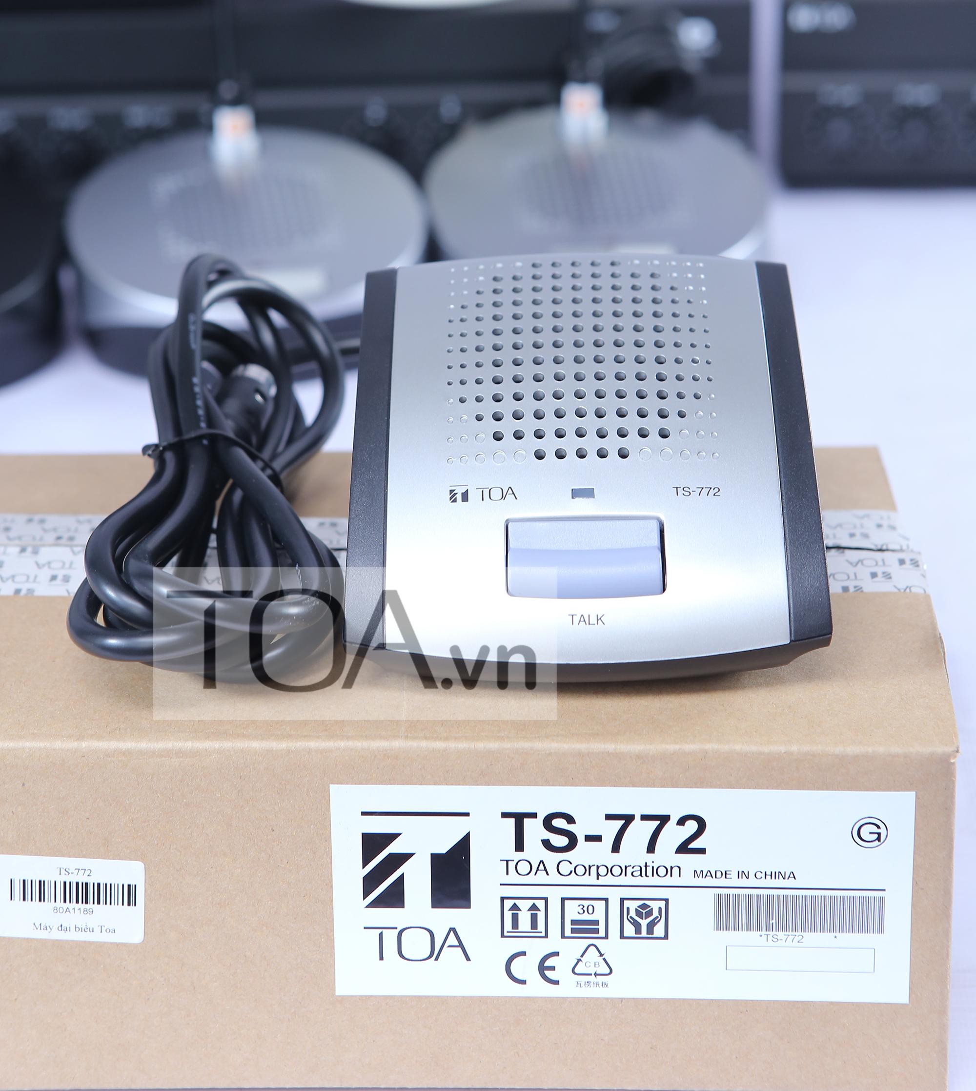 MICRO ĐẠI BIỂU TOA TS-772