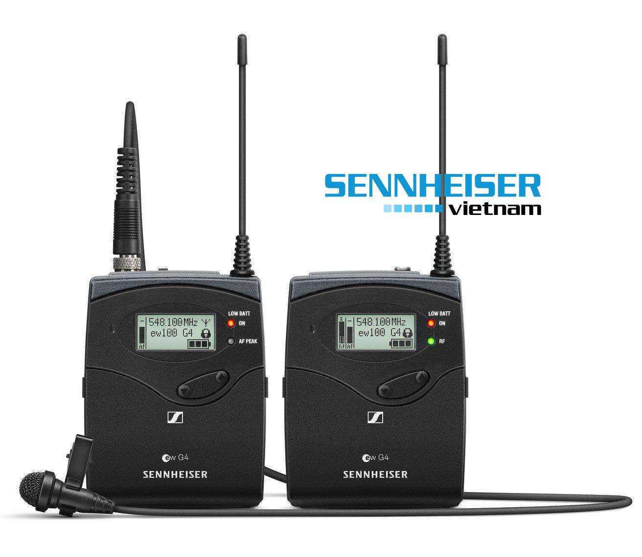 Bộ thu hình và máy phát kèm micro Sennheiser EW 112P G4
