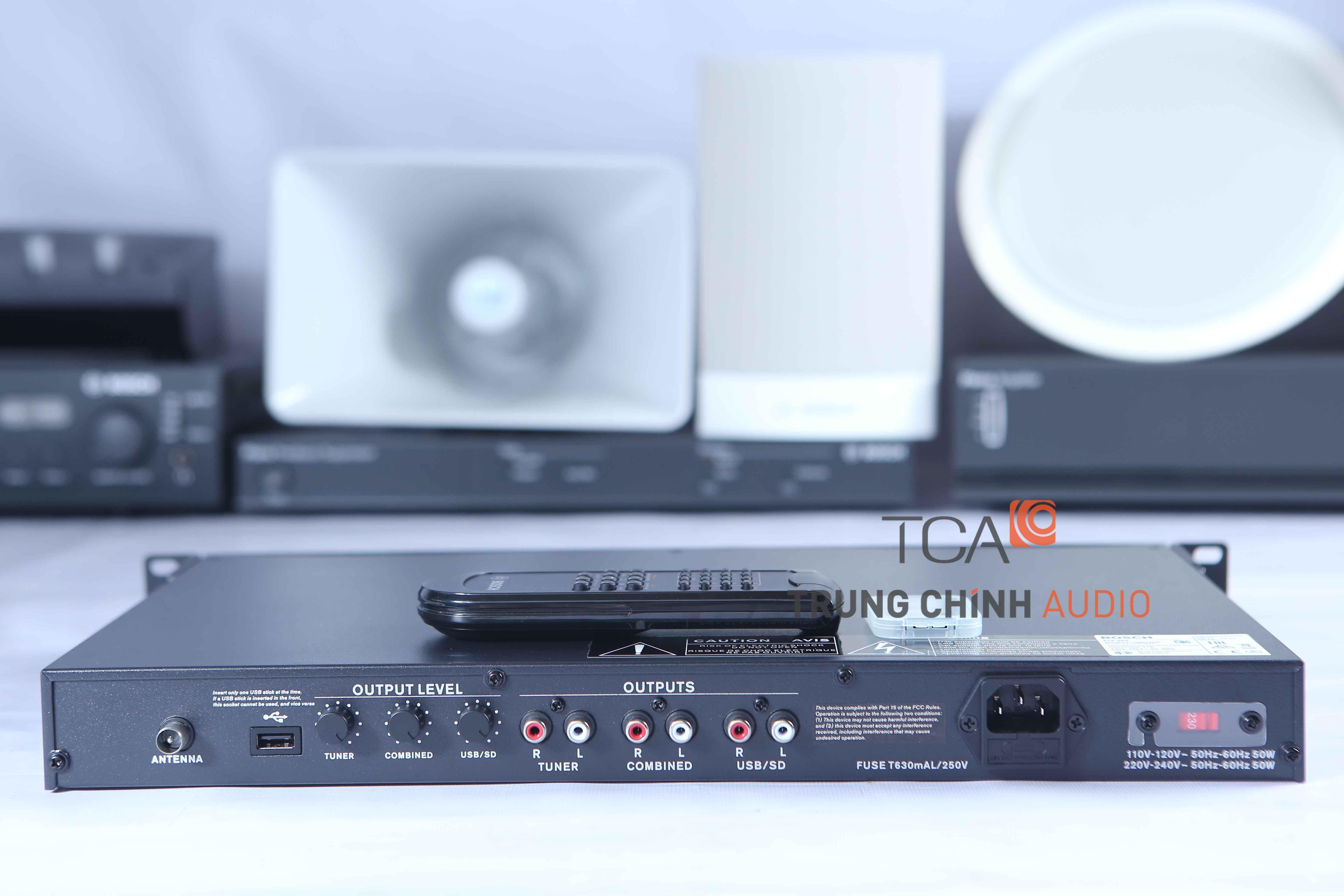 Đầu phát nhạc nền dùng thẻ SD BOSCH PLE-SDT