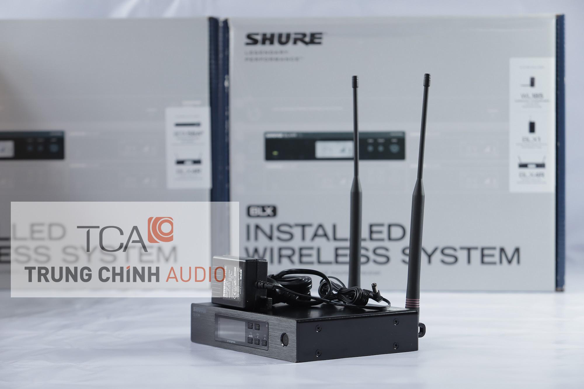 Shure QLXD4A : Bộ thu không dây