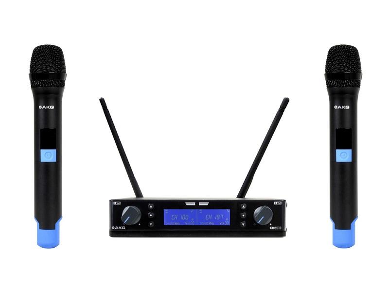 Bộ micro không dây 2 mic AKG KM200
