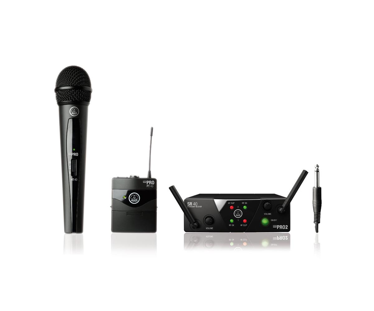 Micro AKG WMS 40 MINI2 VOCAL/INSTRUMENTAL SET DUAL