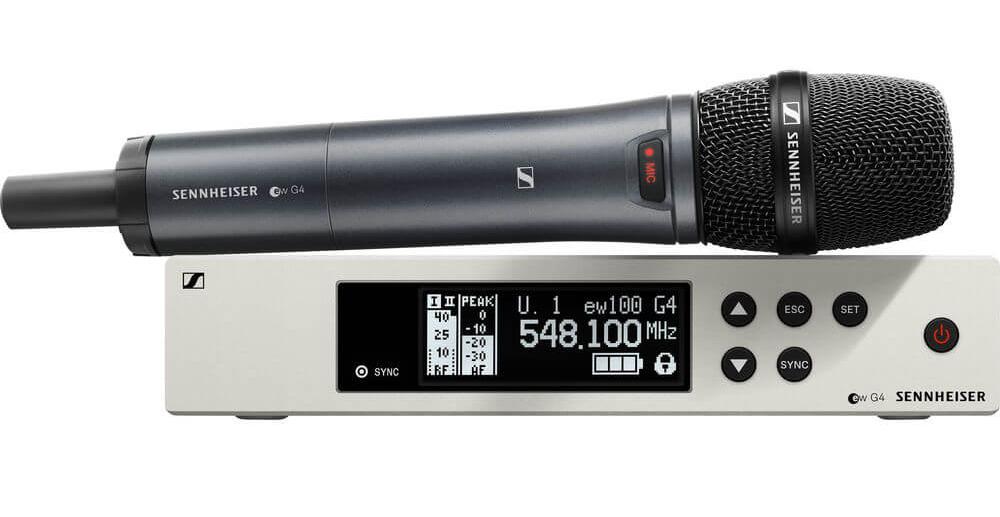 Bộ micro không dây cầm tay Sennheiser EW 100 G4-945-S