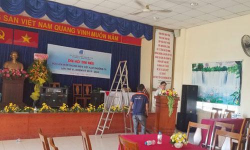 Âm thanh phòng họp hội trường UBND Tân Bình HCM