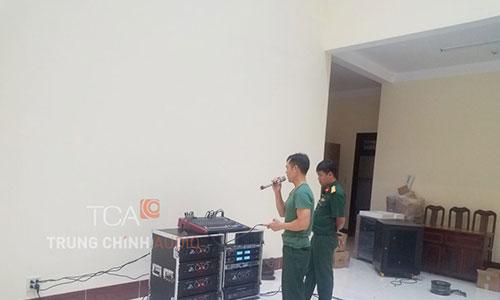 Âm thanh sân khấu hội trường: Lữ Đoàn 950 đảo Phú Quốc