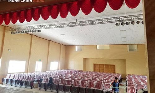 Âm thanh ánh sáng sân khấu hội trường: Nhà Văn Hoá Thanh Niên Q9