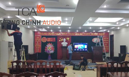 Âm thanh hội trường, phòng họp: Chi Cục Thuế Lạc Thuỷ, Hòa Bình