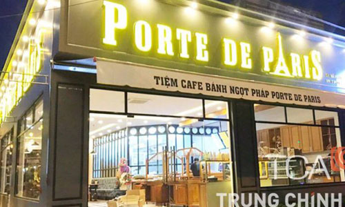 Âm thanh sân vườn cho quán cafe Porte De Paris