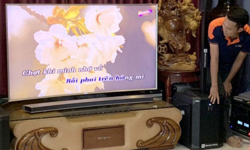 Dàn karaoke gia đình với Loa Electro Voice Evolve 50 : chị Nguyệt , Hồ Chí Minh
