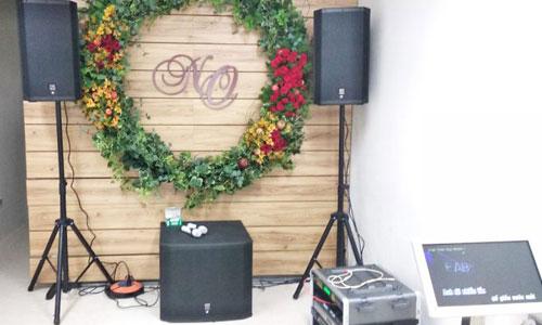Dàn karaoke cao cấp: loa Electro Voice cho gia đình tại Hà Nội