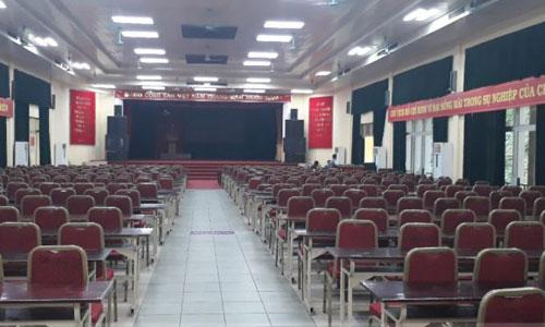 ÂM THANH SÂN KHẤU HỘI TRƯỜNG cho trường học: Đại Học Lâm Nghiệp