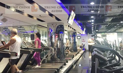 Hệ thống dàn âm thanh phòng tập gym: California Fitness & Yoga Quận 5