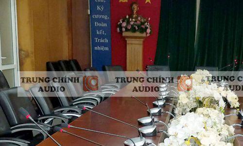 Hệ thống âm thanh hội thảo, hội nghị: Viện Vệ Sinh - Y Tế Công Cộng TP.HCM