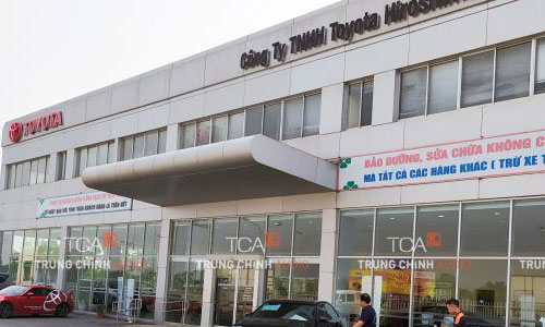 Hệ thống âm thanh TOA thông báo nhà máy, nhà xưởng: Toyota Vĩnh Phúc