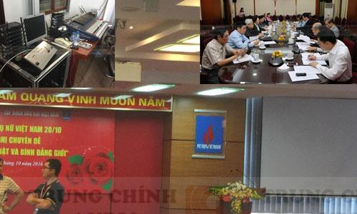 Dàn âm thanh hội trường sân khấu, hệ thống hội thảo phòng họp: Dầu Khí Việt Nam