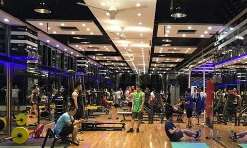 Dàn âm thanh phòng tập thể hình, thể dục GYM FITNESS: Blue Gym, Hà Nội