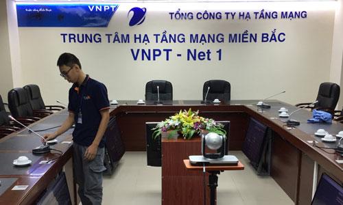 Hệ thống âm thanh hội thảo ITC: VNPT Net 1 - Hạ Tầng Mạng Miền Bắc