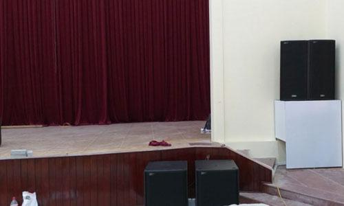 Tư vấn, lắp đặt Dàn âm thanh hội trường sân khấu: Huyện ủy Nghi Xuân - Hà Tĩnh