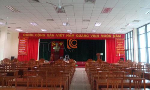 Dàn âm thanh hội trường sân khấu phòng họp hội thảo: Cảnh sát PCCC TP Cần Thơ