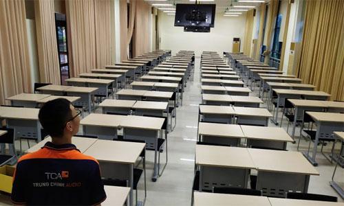 Âm thanh phòng học, giảng đường cho trường đại học Y tế cộng đồng