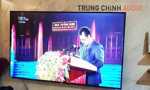 Lắp đặt phòng họp trực tuyến, âm thanh hội thảo cho đài truyền hình Việt Nam VTV