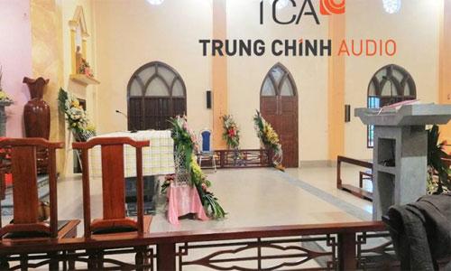 Tư vấn lắp đặt âm thanh sân khấu hội trường cho nhà thờ lớn Nam Định