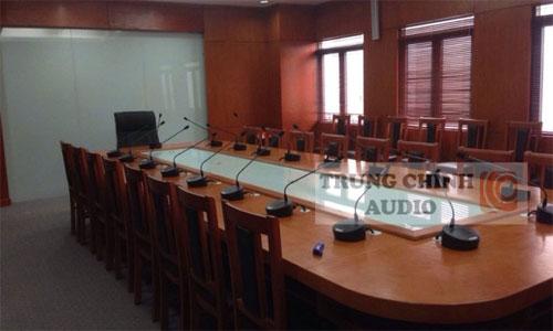 Hệ thống âm thanh hội thảo TOA TS-680-AS: phòng họp,hội nghị Liên đoàn Vật lý Địa chất