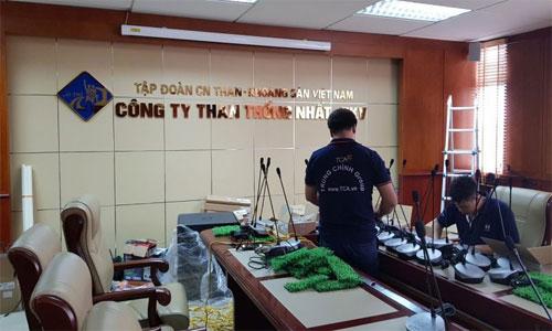 Âm thanh phòng họp hội thảo, hội nghị TOA TS-780: Công ty Than Thống Nhất TKV