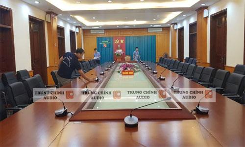 Âm thanh phòng họp hội thảo, hội nghị TOA TS-780: Kho bạc Quảng Ninh