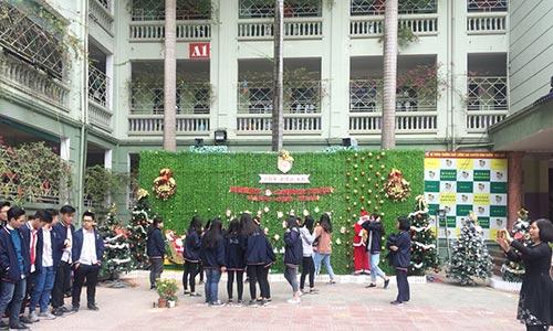 Dàn Âm thanh sân khấu - hệ thống âm thanh trường học Nguyễn Bỉnh Khiêm
