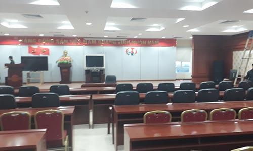 Âm thanh hội trường: phòng họp, sân khấu biểu diễn Chi cục thuế Ứng Hòa, Hà Nội