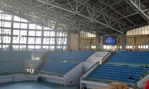 Âm thanh sân khấu lớn chuyên nghiệp cho nhà thi đấu thể thao tỉnh Bắc Giang