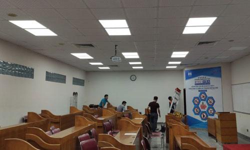 Âm thanh phòng học, lớp học giảng đường Đại học Quốc gia Hà Nội