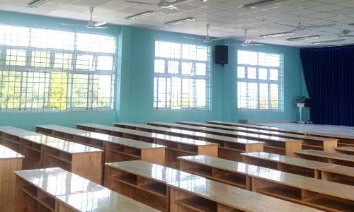 âm thanh phòng học, hội trường, thông báo: Tiểu học Bình Chánh,HCM