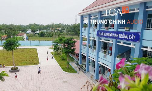 âm thanh phòng học,thông báo trường học: Tiểu học Kim Đồng,Bình Chánh,HCM