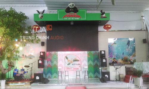 Âm thanh ánh sáng sân khấu chuyên nghiệp cho club Panda Vũng Tàu