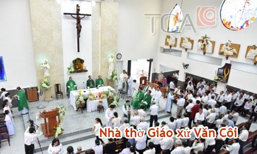 Âm thanh nhà thờ: Giáo xứ Văn Côi, Hồ Chí Minh