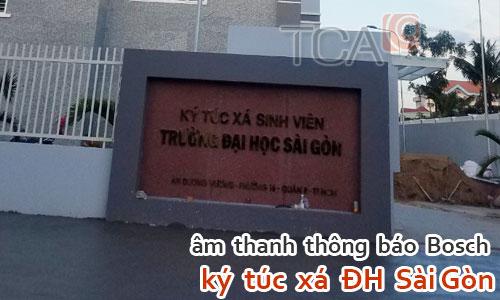 Hệ thống âm thanh thông báo Bosch cho ký túc xá trường học: ĐH Sài Gòn