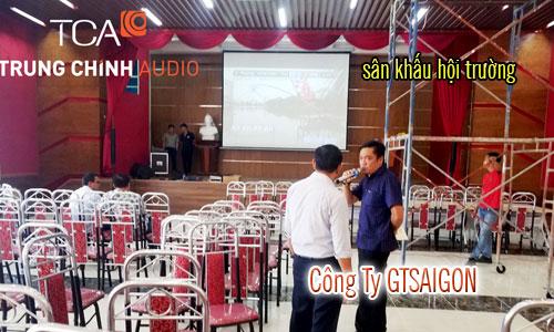 âm thanh ánh sáng sân khấu hội trường: Công Ty GTSAIGON Hồ Chí Minh